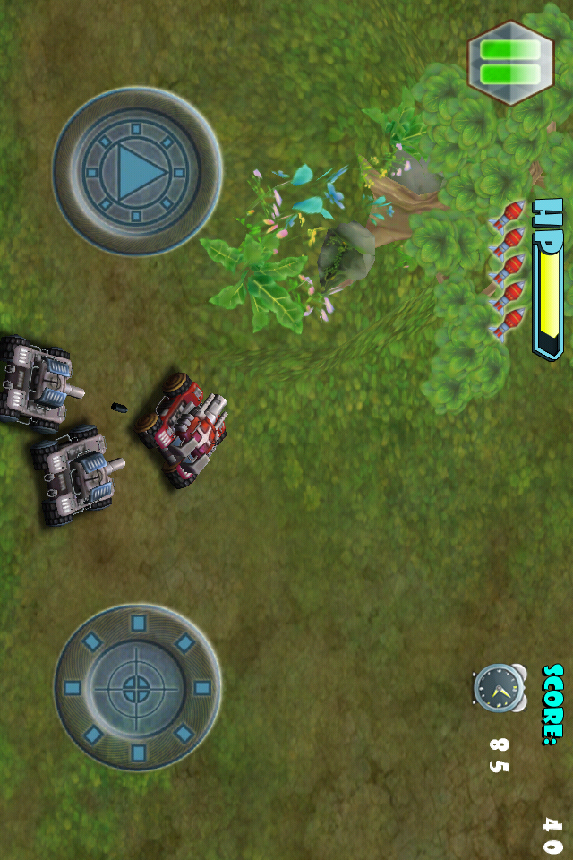 Screenshot 3D TANK GO LITE